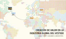 LA CREACIÓN DE VALOR EN LA INDUSTRIA GLOBAL DEL VESTIDO