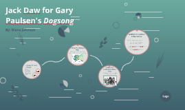 Jack Daw for Gary Paulsen's Dogsong