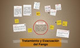 Tratamiento y Evacuación del Fango