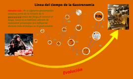 Copy of Linea del tiempo Gastronomía