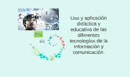 TIC para la educación a distancia