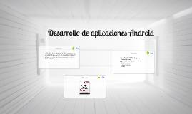 """Curso de """"Desarrollo de Aplicaciones Android"""""""