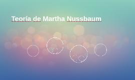 Teoría de Martha Nussbaum