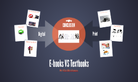 E-books VS Textbooks