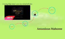 Antonious Mahome