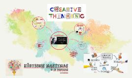Kūrybinis mąstymas