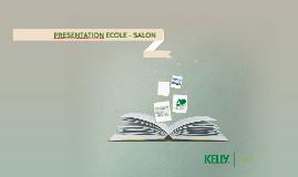 PRESENTATION ECOLE - SALON