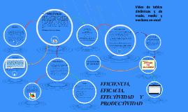 Copy of Eficacia, eficiencia, efectividad y productividad