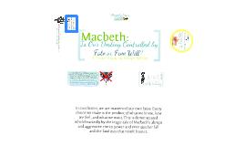Visual Essay - Macbeth