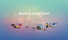 Burning of the Devil:
