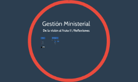 Gestion ministerial