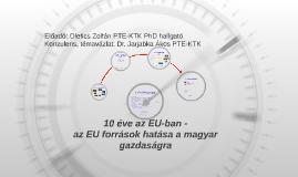 10 Év az EU-ban BBK Konferencia