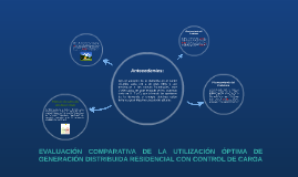 EVALUACIÓN COMPARATIVA DE LA UTILIZACIÓN ÓPTIMA DE GENERACIÓ