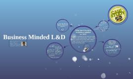 Business Minded L&D