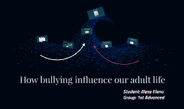 How bullying influence our adult life