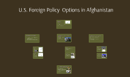 Foreign Policy in Afghanistan