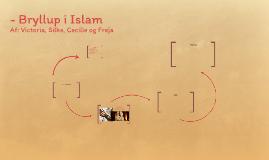 - Bryllup i Islam