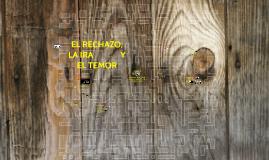Copy of EL RECHAZO  LA IRA Y EL TEMOR
