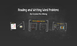 Reading and Writing Word Prolems