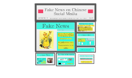 Fake News on Chinese Social Media
