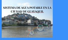 SISTEMA DE AGUA POTABLE EN LA CIUDAD DE GUAYAQUIL