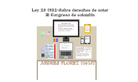 """Copy of LEY 23 DE 1982 """"De los derechos de autor"""""""