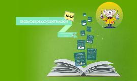 Copy of Copy of UNIDADES DE CONCENTRACIÓN