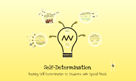 Abbreviated Self-Determination
