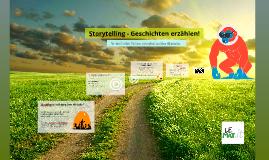 Storytelling - Geschichten erzählen
