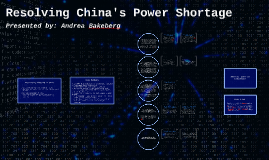 Copy of Resolving China's Power Shortage
