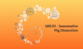 SBI3U - Summative