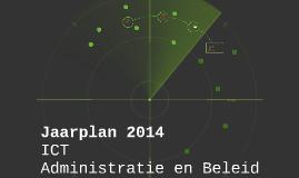 Jaarplan 2014