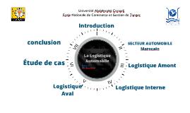 presentation du PFE sur la logistique automobile
