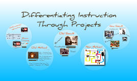 Differentiating instruction with Projects
