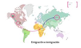 Emigración e inmigración