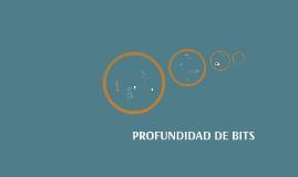 PROFUNDIDAD DE BITS