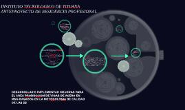 DESARROLLAR E IMPLEMENTAR MEJORAS PARA EL AREA PRODUCCION DE