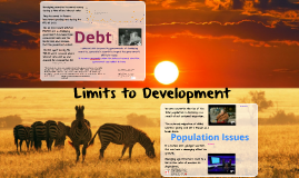 Limits to Development - Debt & Population Issues