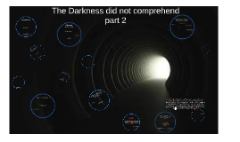 The Darkness did not comprehend