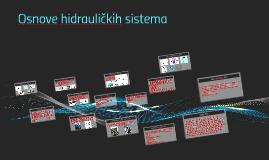 Osnove hidrauličkih sistema