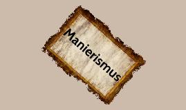 Manierismus