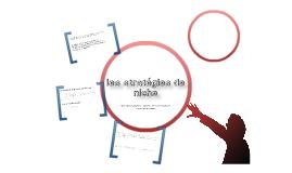 Copy of Les stratégies de niche