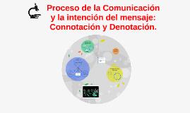 Proceso de la Comunicación y la intención del mensaje: Comno