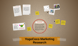 YogoCoco Marketing Research