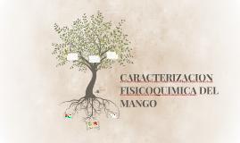 CARACTERIZACION FISICOQUIMICA DEL MANGO