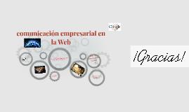 comunicación empresarial en la web