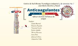 Copy of Anticoagulantes