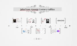John Venn, George Cantor y Galileo