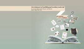 Development of multilingual teaching material