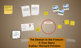 the demon in the freezer essay The demon in the freezer is divided into eight sections it begins with the upsetting details surrounding the sudden death of robert stevens, just three weeks after the attacks of september 11, 2001 it begins with the upsetting details surrounding the sudden death of robert stevens, just three weeks after the attacks of september 11, 2001.